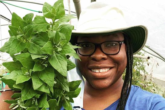Jamaican Shellie-Ann Kerns Used Crowdfunding to Start A Black-Led Farm in Washington